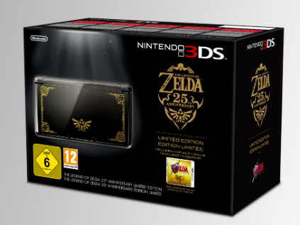 3DS Zelda Limited Edition box